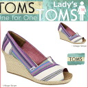 TOMS SHOES Toms shoes wedge sole ladies Sandals 010147B Women's Wedges cotton 2013 new Toms Toms shoes