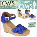 TOMS SHOES Toms shoes Crockett wedge sole Womens Sandals 1000078 Crochet Women's Strappy Wedges polyester 2013 new Toms Toms shoes