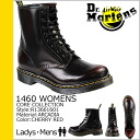 Point 2 x Dr. Martens Dr.Martens 1460 WOMENS 8 hole boots [Cherry Red] R13661601 CORE Leather Womens mens [regular] 02P01Nov14