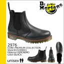 Dr. Martens Dr.Martens Couleur [Black] R15258001 2976 leather mens Womens side Gore boots unisex [regular]