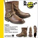 Dr. Martens Dr.Martens short Engineer Boots R15262201 MEG leather men women