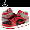 Nike NIKE AIR JORDAN 1 MID 554724-603 sneakers Air Jordan 1 mid leather men's Air Jordan