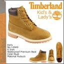 Timberland Timberland waterproof 6 inch premium boots 14949 6inch Premium Waterproof Boot nubuck junior kids child ladies