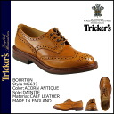 Trickers Tricker's Burton wing tip shoes M5633 BOURTON ダイナイトソール calf leather mens Made In ENGLAND Boughton