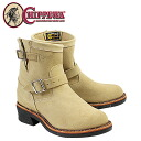 Chippewa CHIPPEWA 7-inch plain to engineer boots 1901M13 7INCH PLAIN TOE ENGINEER E wise suede men's suede