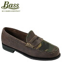 ジーエイチバス G... H... BASS Hermann loafers [dark brown x duck] HELMAN D wise leather men's Loafer [regular]