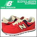 «Reservation products» «3 / 7 when I will be in stock» new balance new balance kids women's KL574RRG sneaker M wise mesh textile Red [3 / 7 new stock] [regular]