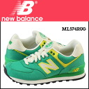 «Reservation products» «11 / 29 I will be in stock» new balance new balance WL574RUG Womens sneakers B wise canvas Green