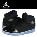 95 1 95 616,369-089 nike NIKE AIR JORDAN RETRO TXT sneakers Air Jordan 1 nostalgic textile leather X fabric men Air Jordan black