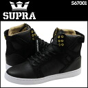 Sioux plastic SUPRA SKYTOP LX PRESTIGE S67001 sneakers sky top prestige leather X suede men suede cloth black [3/8 Shinnyu load] [regular]★★