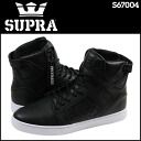 Sioux plastic SUPRA SKYTOP LX S67004 sneakers sky top leather men black [3/8 Shinnyu load] [regular]★★