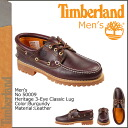 Timberland Timberland heritage 3 eye classic lug [Burgundy] 50,009 Heritage 3 Eye Classic Lug leather mens [1 / 14 Add in stock] [regular]
