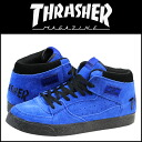 Slasher THRASHER BUCHANAN DOG TSBDS-131BBS sneakers Buchanan dog suede men gap Dis suede cloth blue