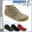 Birkenstock-BIRKENSTOCK Dundee DUNDEE 3 color mens Womens Sandals room shoes suede