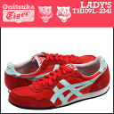 Onitsuka Tiger ASICs Onitsuka Tiger asics women's SERRANO sneakers Serrano suede / nylon red TH 109L-2341 [5 / 23 new in stock] [regular]
