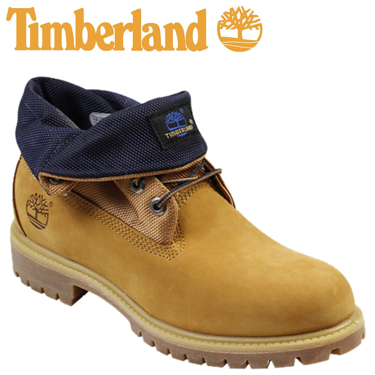 timberland roll top laarzen