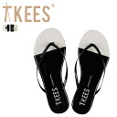 Troubtikeys Trove Tkees Beach Sandals flip flops French chips on the 2 color FLIP FLOP FRENCH TIPS women's Sandals [genuine]