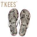 トローブティキーズ Trove Tkees flip-flop lip liner [ピンクベノム] FLIP FLOP LIP LINERS leather Lady's sandals [regular]