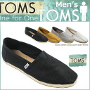 TOMS SHOES Thoms shoes men LINEN MEN'S CLASSICS [4 colors] linen classical music cotton slip-ons Tom's Thoms shoes [4/9 Shinnyu load] [regular] fs04gm 05P06May14