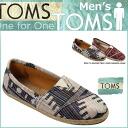 TOMS SHOES Toms shoes men's WEAVE MEN's CLASSICS 2 color wave classics cotton slip-on Toms Toms shoes [4 / 9 new in stock] [regular]