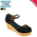 TOMS SHOES Toms shoes women's SUEDE WOMEN's PLATFOAM WEDGES 2 color suede ウマンズ platform ウェッジーズ suede Sandals Toms Toms shoes 2014 new [4 / 9 new in stock] [regular] fs04gm