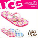 2014 point double UGG アグウィメンズフレアービーチサンダル [2 colors] WOMENS FLARE lady's rubber SPRING new works 1799 [regular]