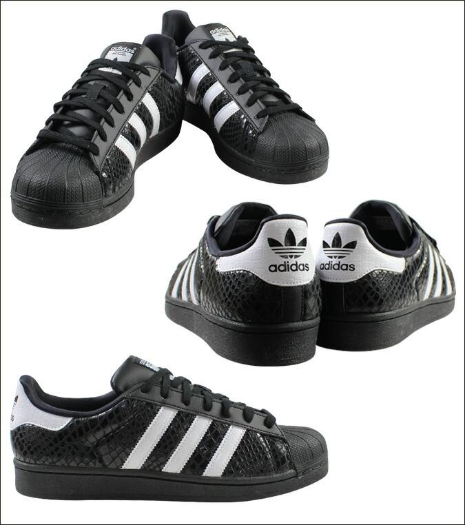 adidas original superstar black snake