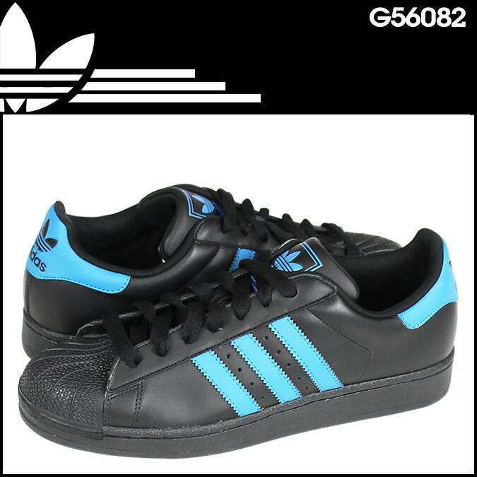 Adidas Superstar Black Blue