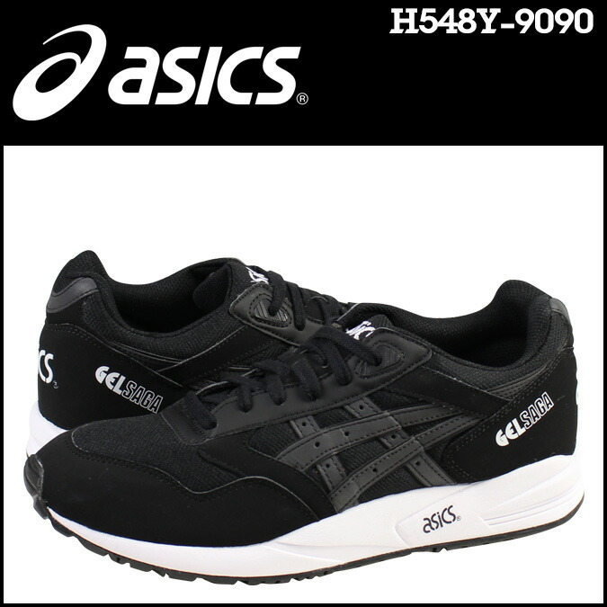 GEL Saga Black/Black ASICS Tiger United States