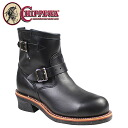 Chippewa CHIPPEWA 7 inch steel to engineer boots 7 INCH STEEL TOE ENGINEER E wise leather men's 1901M10 black [10 / 29 new stock] [regular]