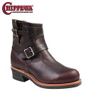 Point 2 x Chippewa CHIPPEWA 7 inch steel to engineer boots 7 INCH STEEL TOE ENGINEER E wise leather mens 1901M11 cordovan [regular] P06Dec14