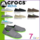 Crocs crocs Cabo CABO LOAFER loafers on the 3 color canvas x cross light men's slip-on outdoor 14989 [regular]