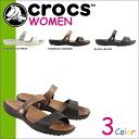 «Pre-order items» «5 / 13 time stock» Crocs crocs women's Coretta Sandals CORETTA W cross light 200067 3 color [5 / 13 new stock] [regular] ★ ★