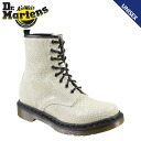 Dr. Martens Dr.Martens 1460 Ladies 8 hole boots WOMENS 8 EYE BOOT snake R11821115 black [3/28 new in stock] [regular]