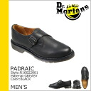 Dr. Martens drmartens Padraic monk strap shoes PADRAIC MONK SHOE leather men's Monk shoes R16022001 black [10 / 24 Add in stock] [regular]
