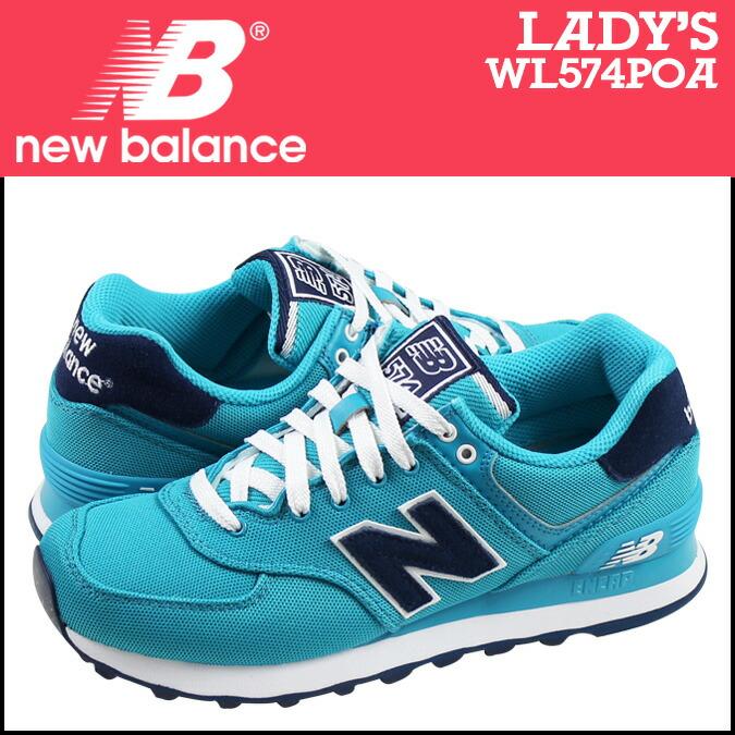 new balance 574 canvas Blue