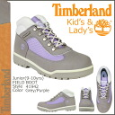 Timberland Timberland field boots 41942 leather FIELD BOOT junior kids child ladies