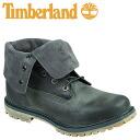Timberland Timberland Womens authentics suede roll top boots WOMEN's AUTHENTICS SUEDE ROLL-TOP BOOTS men's 8308A dark grey suede [10 / 9 new in stock] [regular] ★ ★