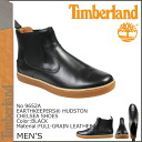 Point 2 x Timberland Timberland Earthkeepers headstone Chelsea boots EARTHKEEPERS HUDSTON CHELSEA SHOES leather men's 9652A black [regular] P06Dec14