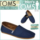 TOMS SHOES Toms shoes mens slip-on TWILL MEN's CLASSICS Twill classic Toms Toms shoes 10002783 Navy [2 / 21 new in stock] [regular]