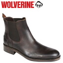 Wolverine WOLVERINE Montague 1000 mile Chelsea boots MONTAGUE 1000 MILE CHELSEA BOOT D wise leather mens Couleur W05452 Brown [10 / 31 new in stock] [regular]