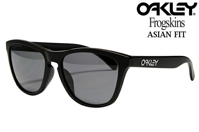 new oakley lenses nw9b  sneeze  Rakuten Global Market: OAKLEY FROGSKINS SUNGLASSES ASIAN FIT OO  9245-19 MATTE BLACK/GREY POLARIZED Oakley frog skin Asian fit sunglasses  matte