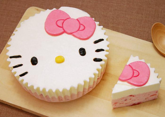 キティのケーキ