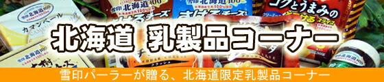 北海道 乳製品コーナー