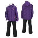ONYONE( On Yo Ne) Lady's ski suit Lady's RUS84001 837P009( purple P/ black )02P13Dec13_m