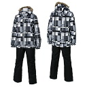 12-13 rush air Lady's skiwear On Yo Ne skiwear RUS85011 005P009(GRAY/BLACK)02P28oct13