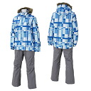 12-13 rush air Lady's skiwear On Yo Ne skiwear RUS85011 615P003(SAX/GRAY)02P13Dec13_m
