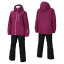 12-13 rush air Lady's skiwear On Yo Ne skiwear RUS85012 957009(D.PINK/BLACK)02P28oct13