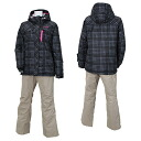 RES86001 008P186( charcoal / beige )02P11Jan14 for RESEEDA (レセーダ) Lady's skiwear women