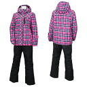 RES86001 962P009( pink / black )02P11Jan14 for RESEEDA (レセーダ) Lady's skiwear women